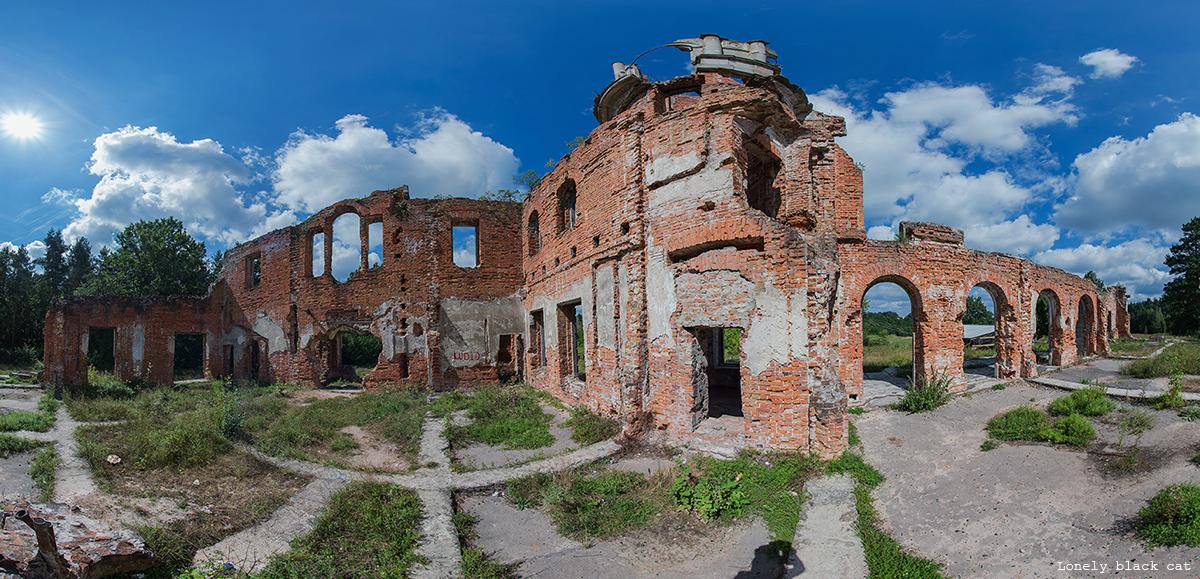 abandoned farmstead of landowner Tereshchenko by Lonely-black-cat