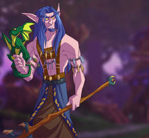 He's a Nice Druid, Really by shoomlah