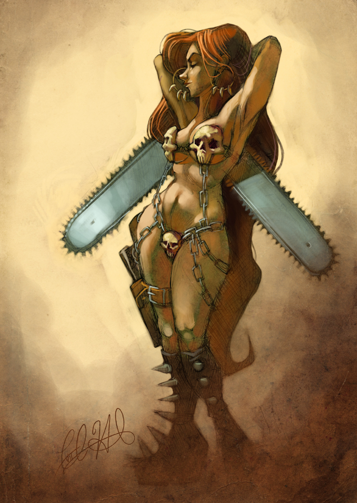 Frazetta Redux by shoomlah