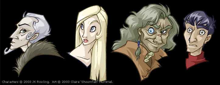 Goblet of Fire portraits by shoomlah