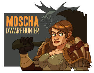 Blizzcon badge - Moscha by shoomlah