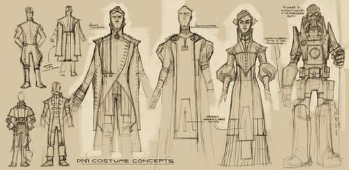 D'ni Costume Designs by shoomlah