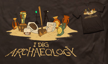 I Dig Archaeology - JINX shirt by shoomlah