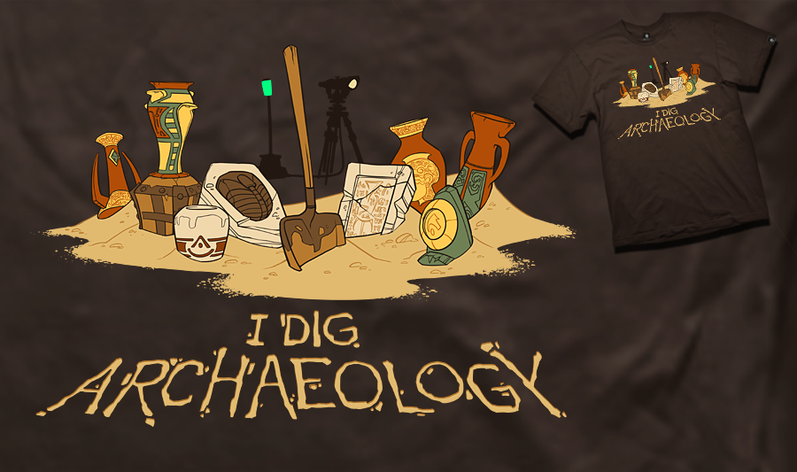 Image result for i really dig archaeology