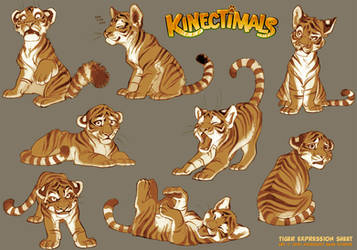 Kinectimals expression sheet