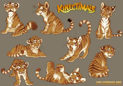 Kinectimals expression sheet