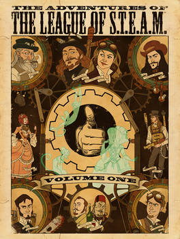 League of S.T.E.A.M. DVD cover