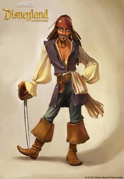 Kinect Disneyland Adventures - Jack Sparrow