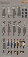Bioshock Infinite - Young Liz costume development