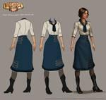 Bioshock: Infinite - Young Liz final concept