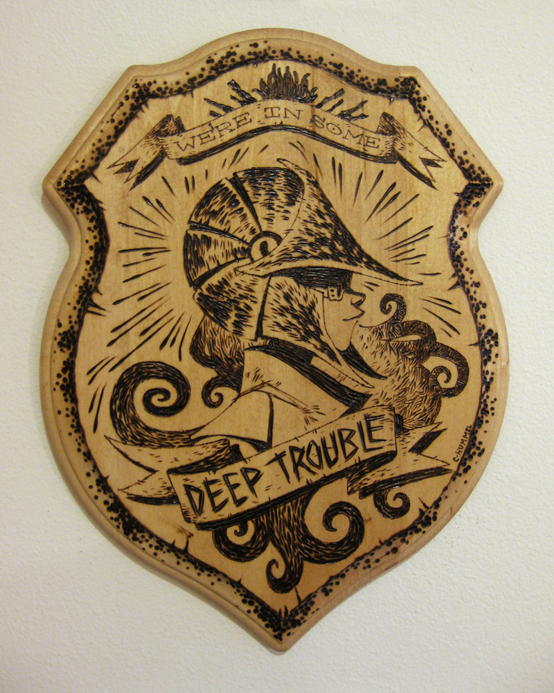 Deep Trouble by shoomlah