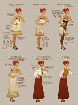 Dressing Rosalind Lutece