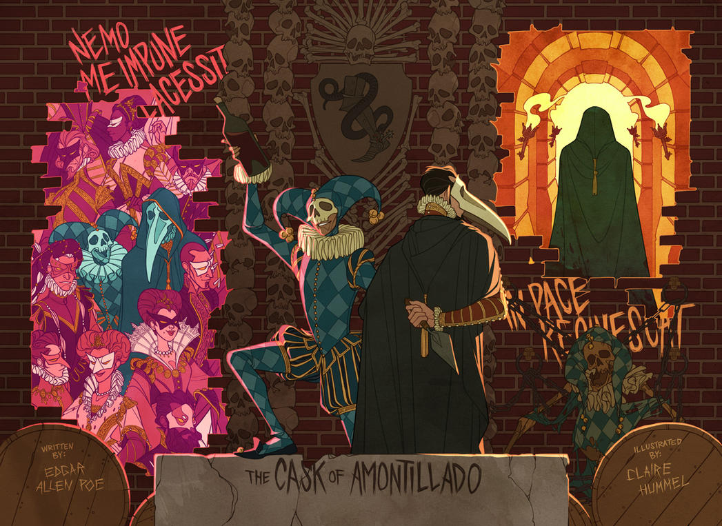 the cask of amontillado by shoomlah on  the cask of amontillado by shoomlah