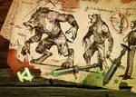 Killer Instinct - Sabrewulf fight stick