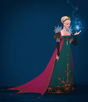 It looks like I'm the queen (coronation gown)