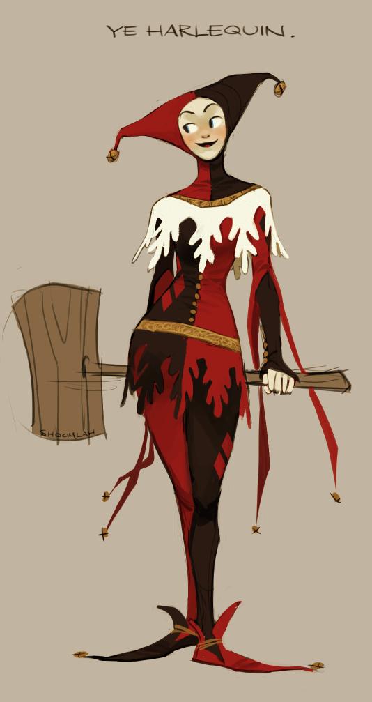 14th Century Harley Quinn