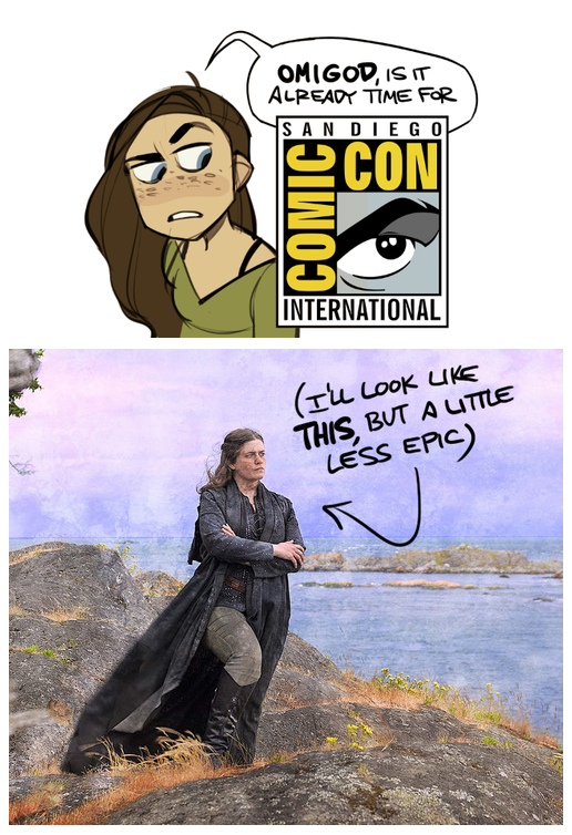San Diego Comic-Con International! by shoomlah