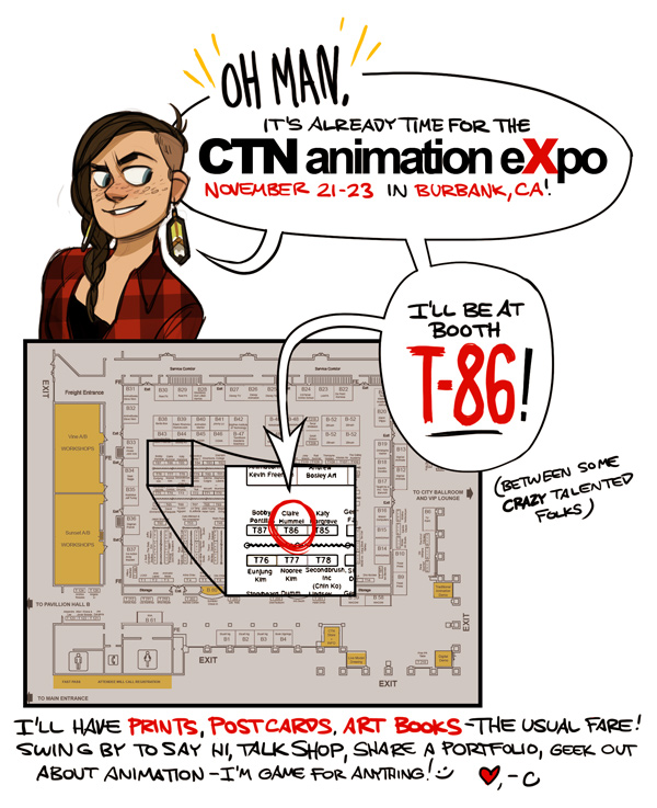 CTNx 2014 - BOOTH T-86! by shoomlah