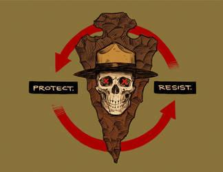 PROTECT. RESIST. by shoomlah