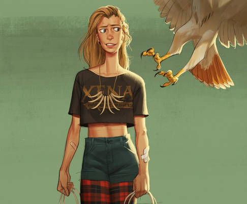 Girl Meets Hawk