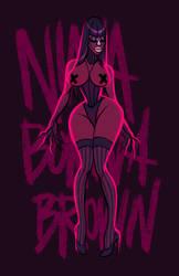 Nina Bo'Nina Brown by shoomlah