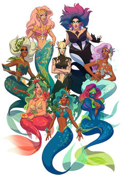Drag Daughters of Triton, vol. 2