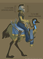Me and You and Emu by shoomlah