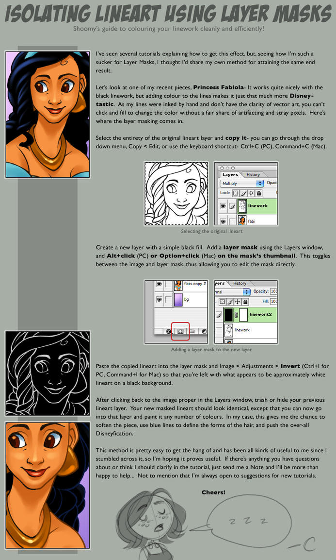 Coloured lineart tutorial by shoomlah on deviantart coloured lineart tutorial by shoomlah baditri Gallery