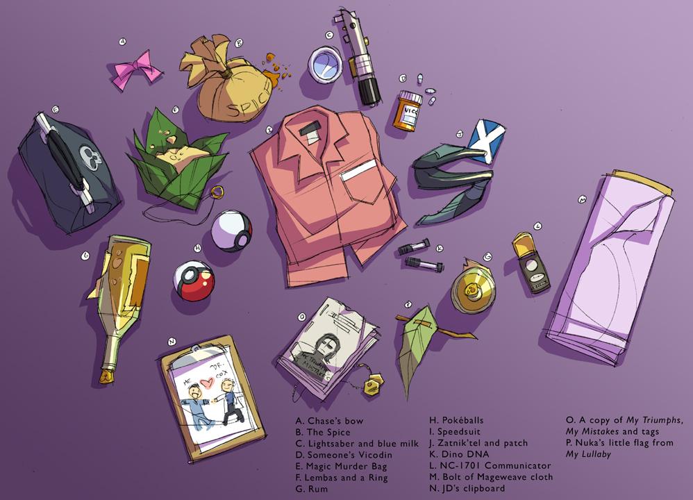 Fandom Souvenirs by shoomlah