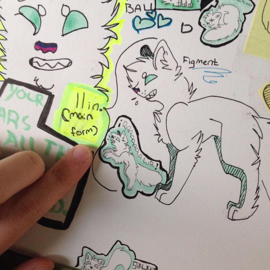 Smol doodles by slendypupp