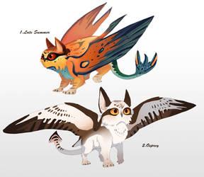 Manta owl adoptables round 2 (closed) 007