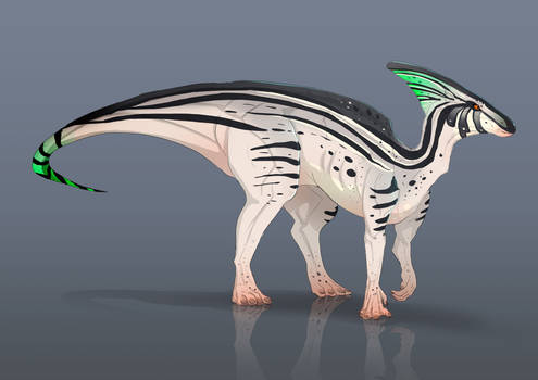 Parasaurolophus adoptable auction closed