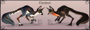 Fleetfoot adoptable auction closed