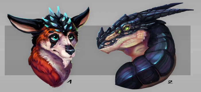 Bust adoptables closed