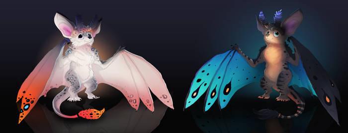 Moth Bat Adoptable auction open
