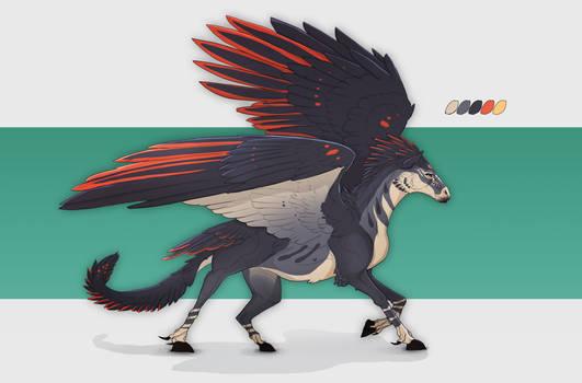 Pegasus Adoptable auction open