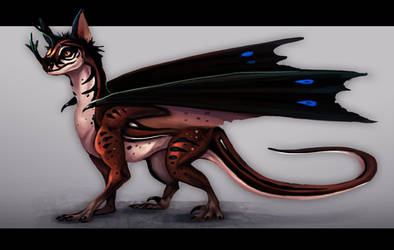 Dragon adoptable auction closed by GlitchLight
