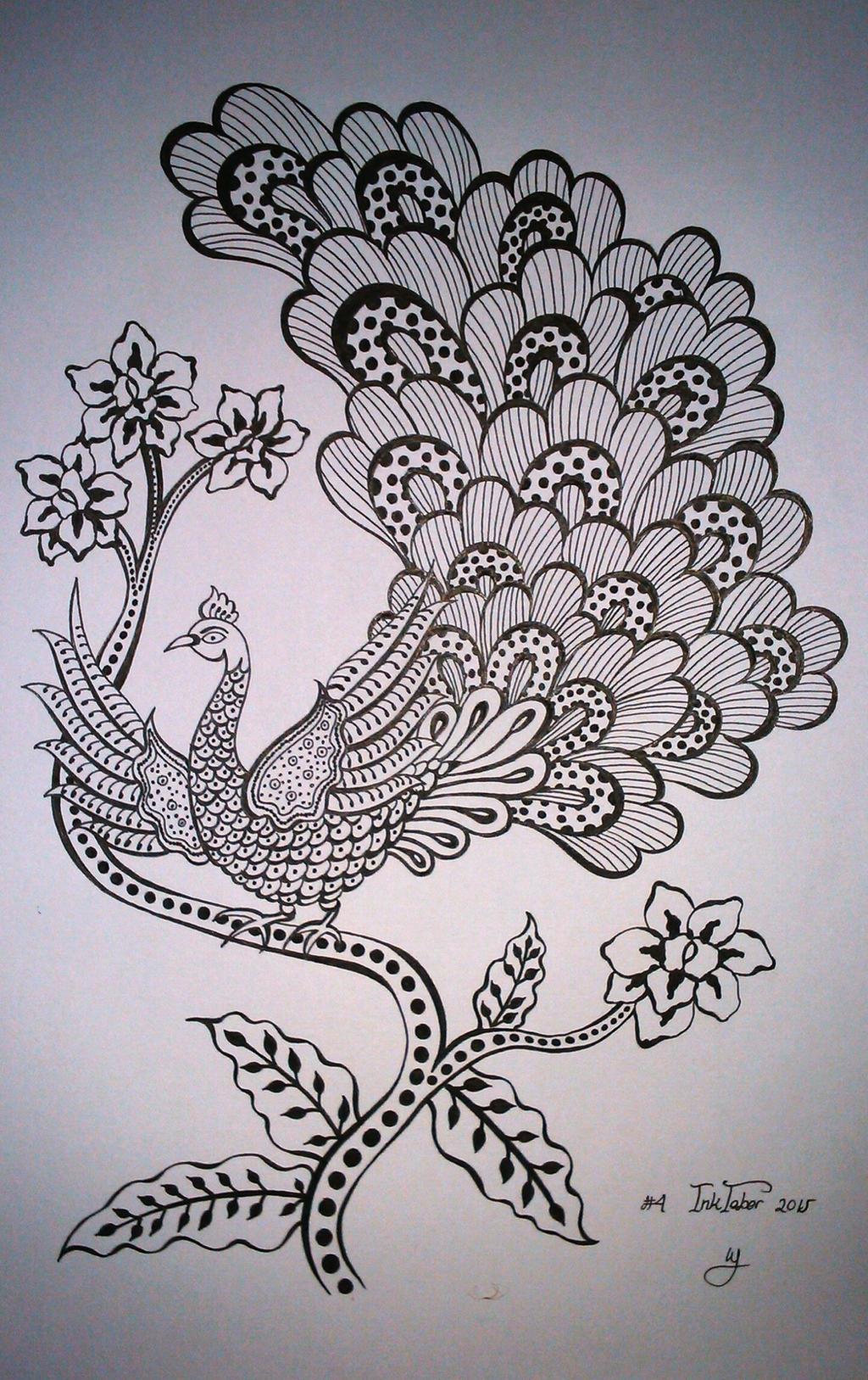 Motif Batik Merak By Winawasaby On Deviantart