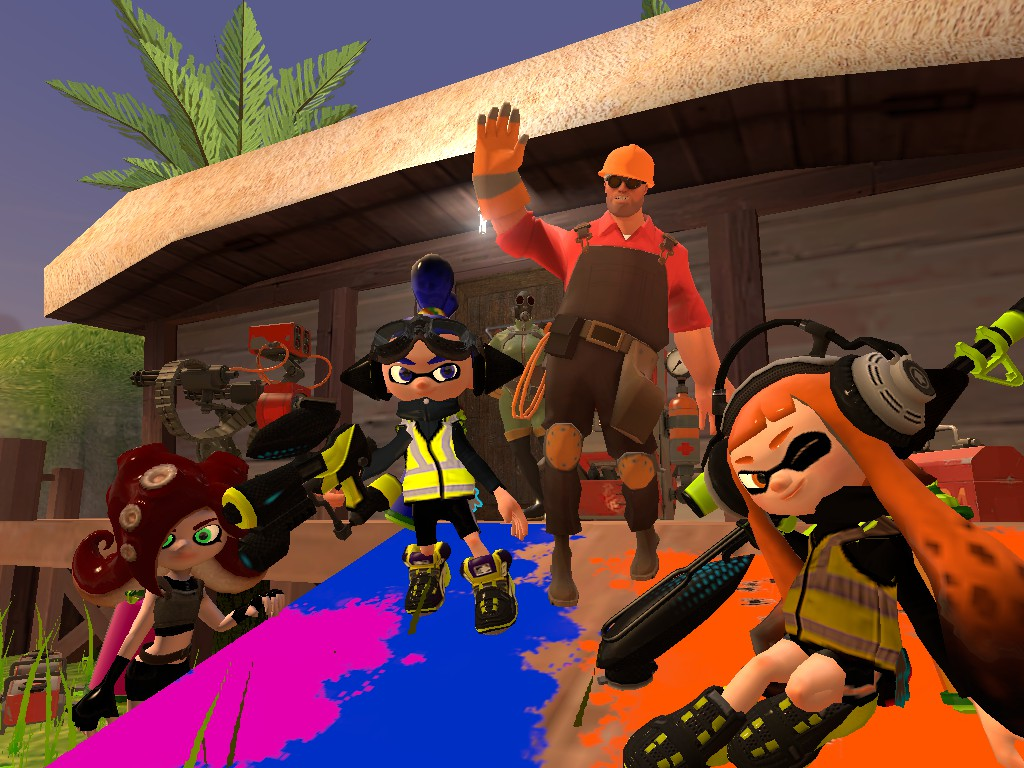 Splatoon Agents by TeamInTheDarkness