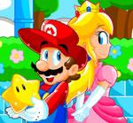 Pixel Art- Mario and Peach