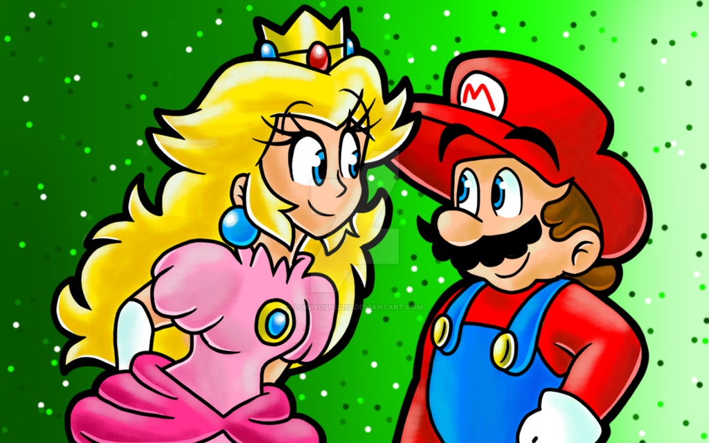 Mario and Peach Doing It - Bing images