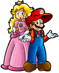Oh Look, Mario and Peach