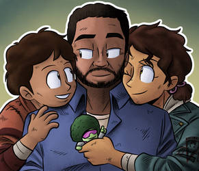 Lee, Clem and AJ