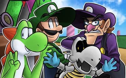 Super Mario Party Bois!