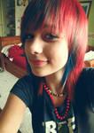 RedBLUE hair