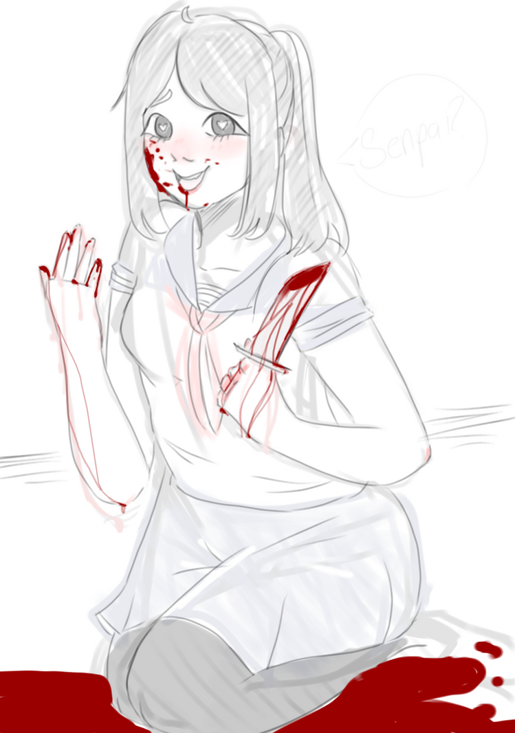 Yandere-chan by IceMoonArt
