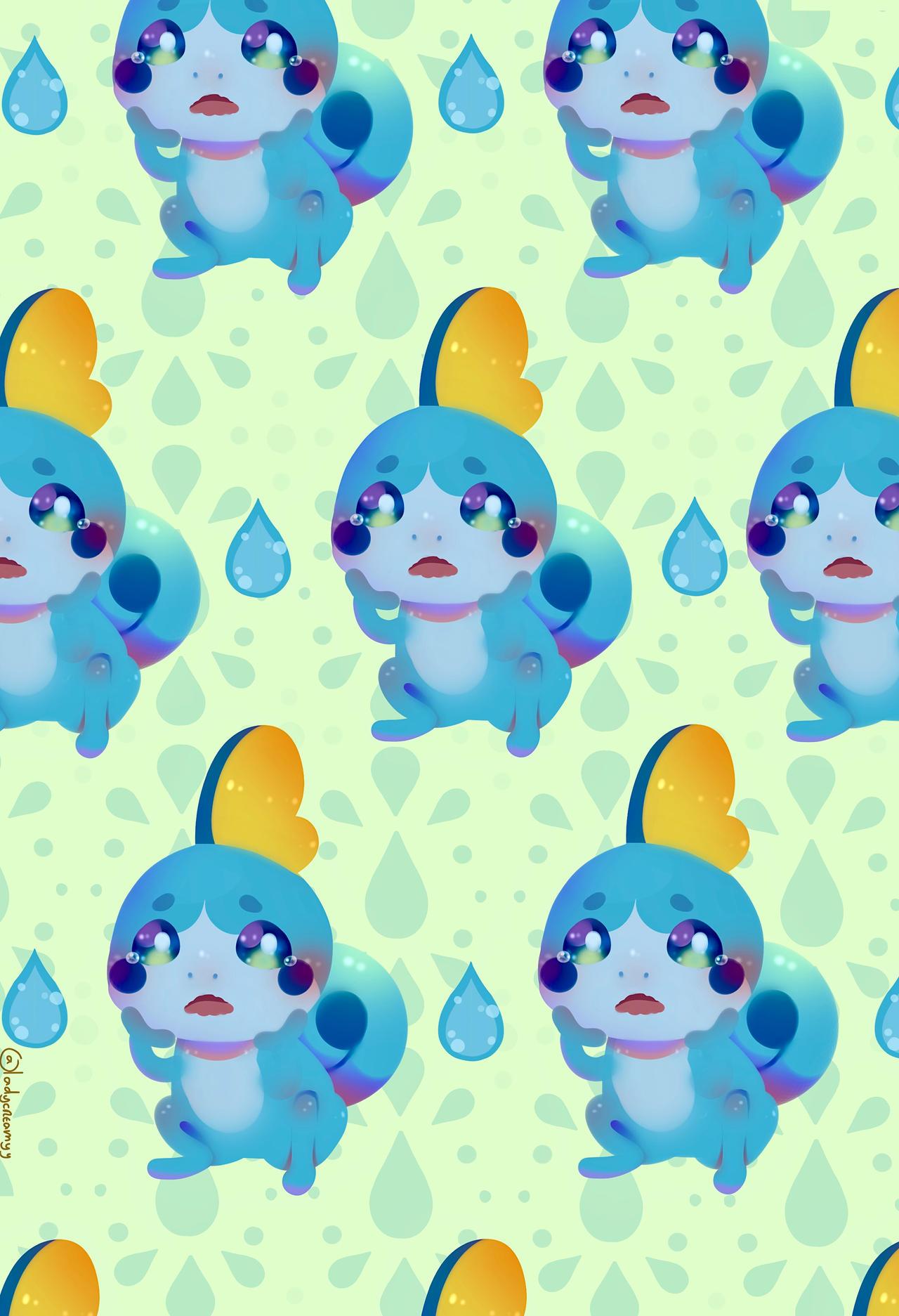 Sobble Wallpaper Fanart Pokemon Sword And Shield By Ladycreamy On