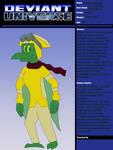Deviant Universe - Dino Soar by Tmaneea