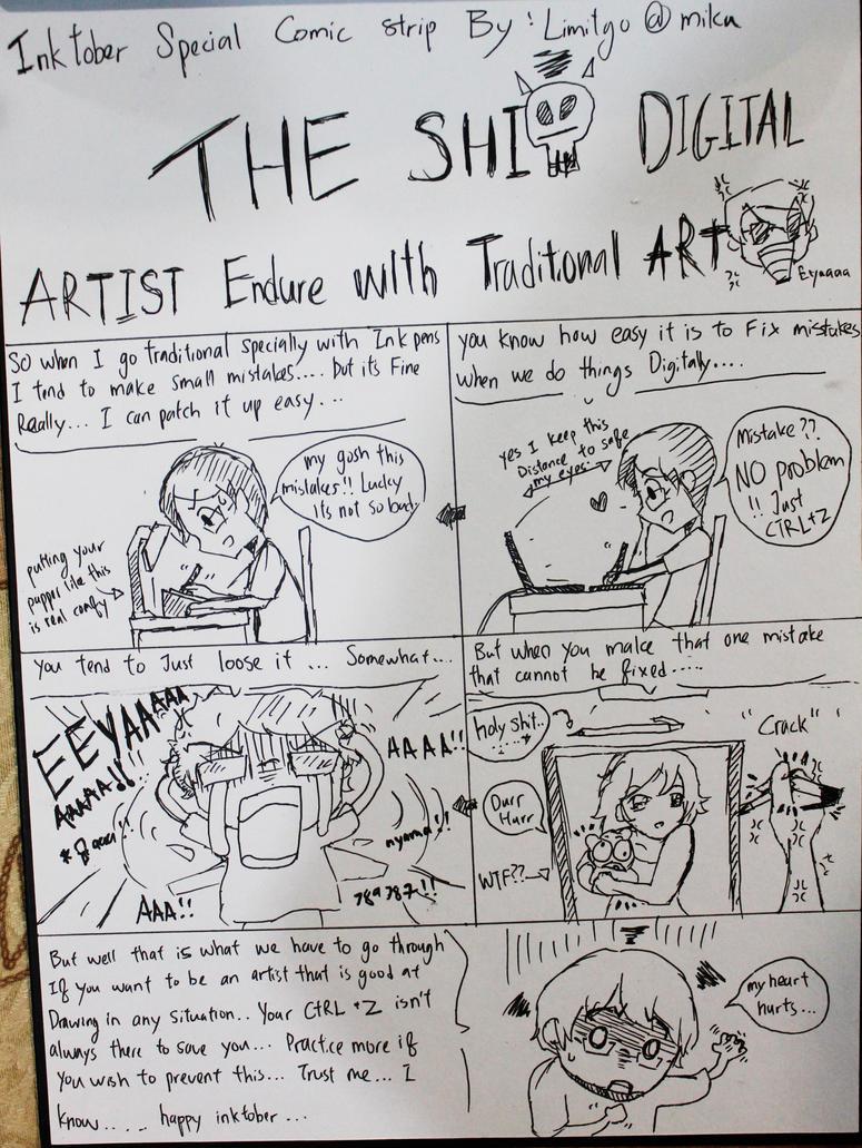 Inktober Rants of a digital artist by MiTmIt92