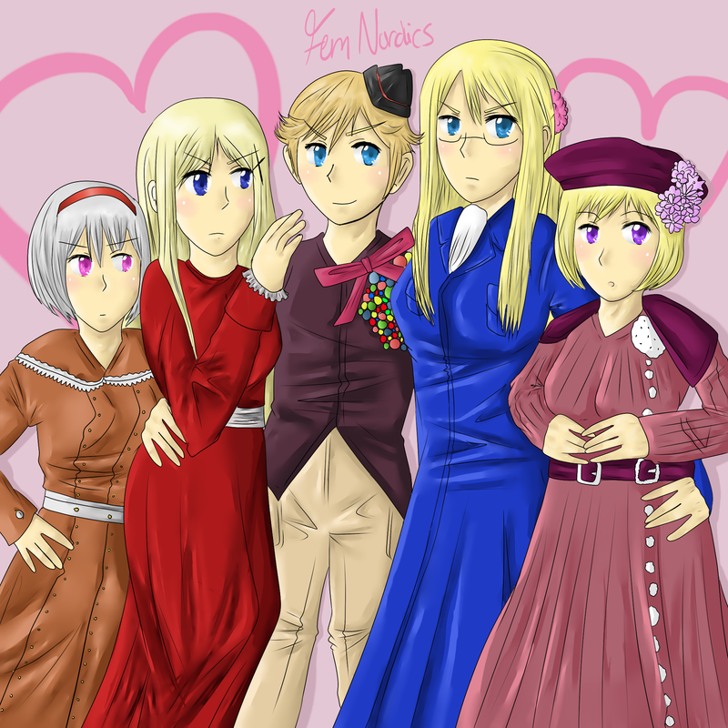 Hetalia Beautiful World Nordics
